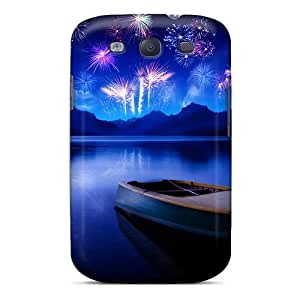 Cute Appearance Cover/tpu DkI3002cIQk Celebrating New Year Hd Case For Galaxy S3
