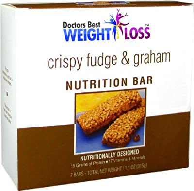Crisp'n Crunch Fudge Gram Diet Bar from Doctors Best Weight Loss