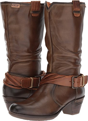Rotterdam 9607 Moss Boots Womens 902 Leather Pikolinos RBnq81wO