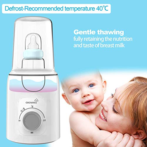 51j8wWsHSlL - Bottle Warmer, 5-in-1 Fast Baby Bottle Warmer And Sterilizer Baby Food Heater&Defrost BPA-Free Warmer For Breastmilk And Formula