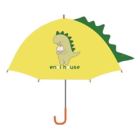 Sombrilla de lluvia para niños con forma de paraguas para niños, para niños, paraguas