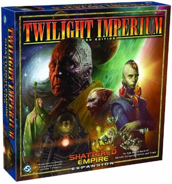 1589942558 Twilight Imperium 3rd Edition: Shattered Empire Expansion 51j8wb1wWVL.