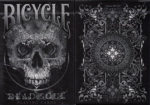 - Bicycle Dead Soul Playing Cards Poker Size Deck USPCC Custom Limited Edition