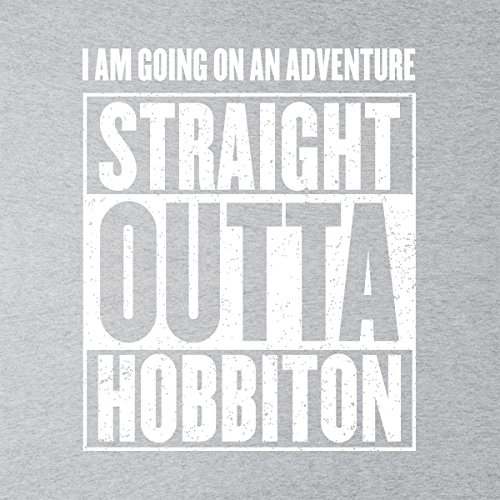 Grey Men's Lord The Of Straight white Heather Jacket Outta Varsity Rings Hobbiton gqUqanvw4