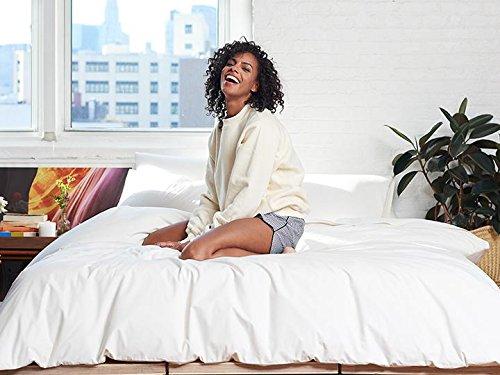 Brooklinen Luxe Duvet Cover - 100% Long Staple Cotton - Full/Queen by Brooklinen (Image #3)