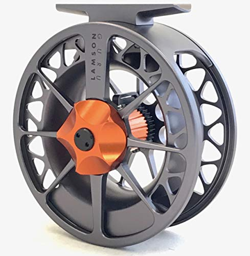 Waterworks-Lamson Guru Series II Fly Reel 2 Grey/Orange