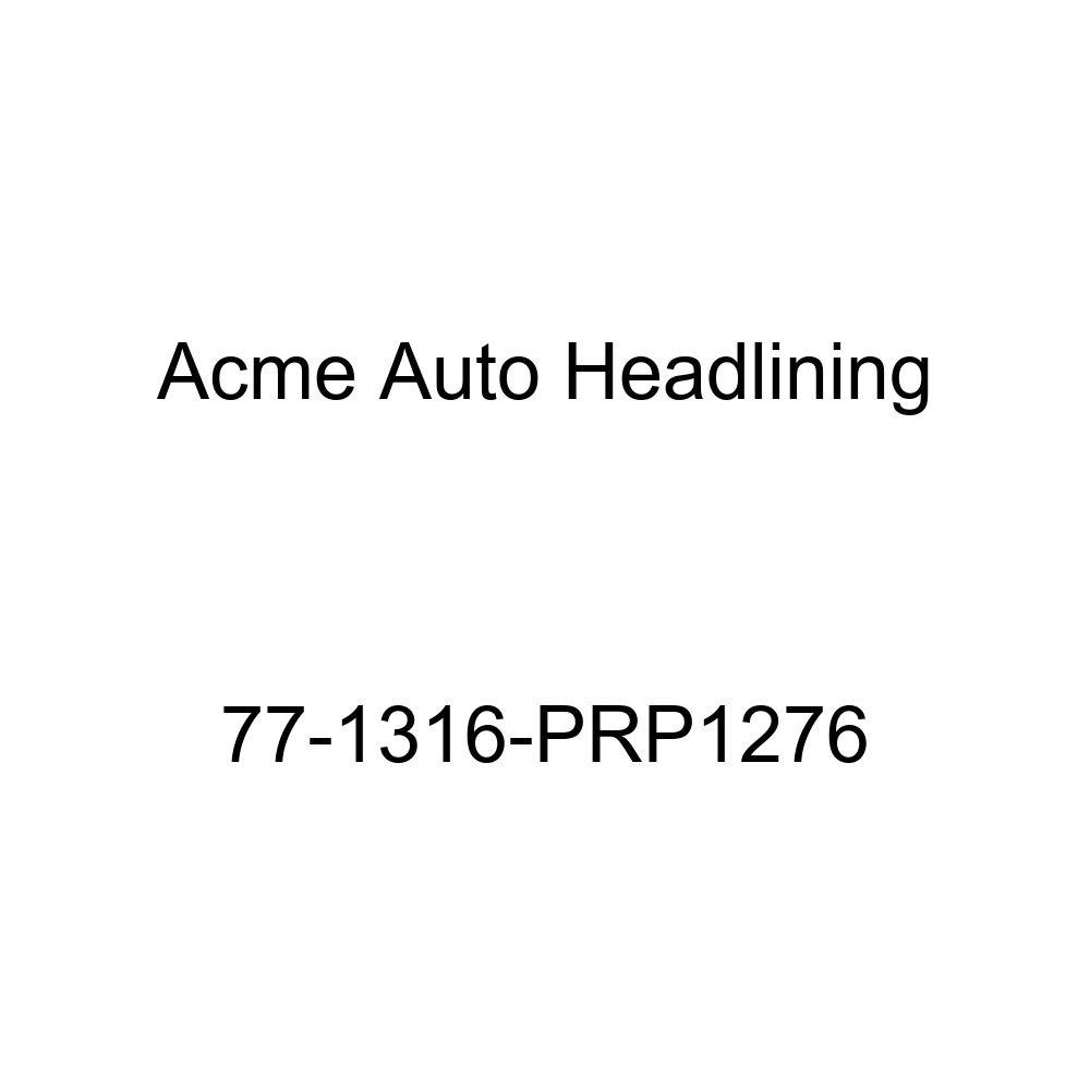 Acme Auto Headlining 77-1316-PRP1276 Dark Green Replacement Headliner 1977 Cadillac Fleetwood 4 Door Limousine
