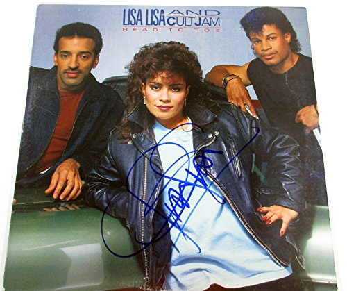 Lisa Velez Signed Album Lisa Lisa Cult Jam Head To Toe with AUTO by KrukCards