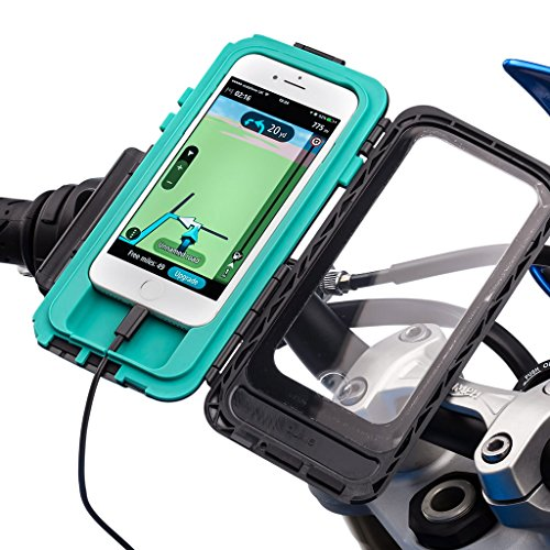 Ultimateaddons Motorcycle U-Bolt 3'' Extended Mount + Tough Case for Apple iPhone 7 4.7 + Hardwire Kit by Ultimate Addons (Image #1)