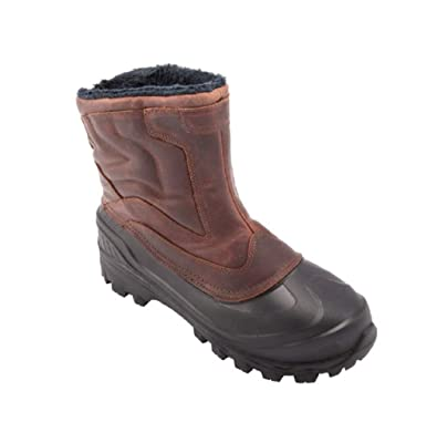 Absolute Canada Men's Grizzly Boots (8, Brown)