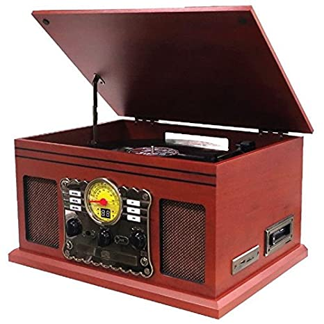 Cyber Lux Nostalgie Retro Minicadena | Tocadiscos | equipo estéreo ...