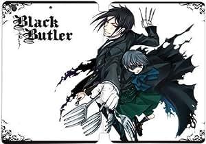iPad mini 1 2 3 Flip Leather Phone Case Black Butler SF1DG6282860