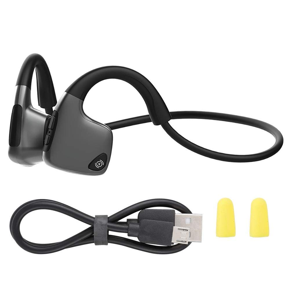 Zopsc Wireless Headset Bluetooth 5.0 R9 Waterproof Sport Bone Conduction Headphones, Support Enjoy Music, Calls, Voice Chat, Applied to Mobile Phones, Computers, Tablets, etc