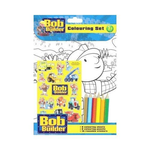 Bob el constructor Set para colorear: Amazon.es: Juguetes y juegos