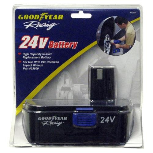 Goodyear Windshield Wipers >> Goodyear Impact Wrench 24V Battery (89058) - Impact Wrenches - Automotive Parts