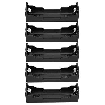 5PCS ABS Caja de Batería Soporte Organizador Estuche de ...