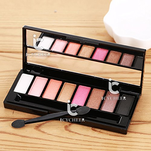 8 Colors Makeup Pink Series Shimmer Eyeshadow Palette Eye Sh