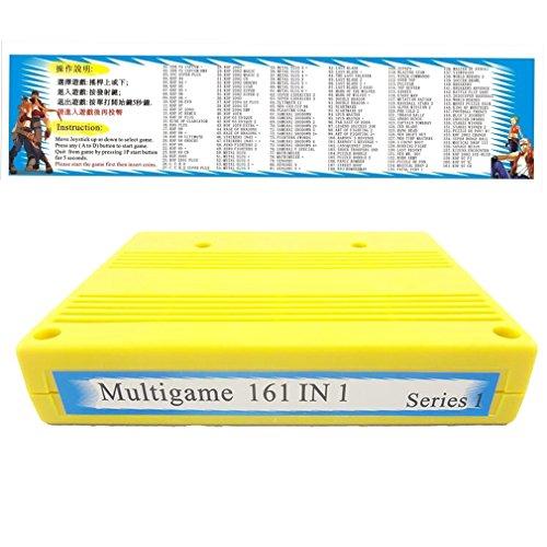 WINIT SNK 161 in 1 Multi Cartridge Game Pcb Board for SNK JAMMA Motherboard Arcade Machine Game Board by Winit