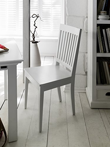 NovaSolo Halifax Dining Chair, White by NovaSolo
