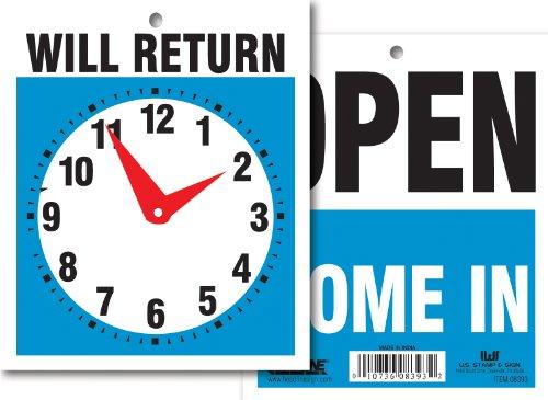 Headline Sign 9381 Double Sided Return product image