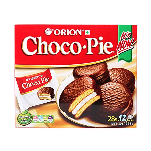 choco pie green tea - 9