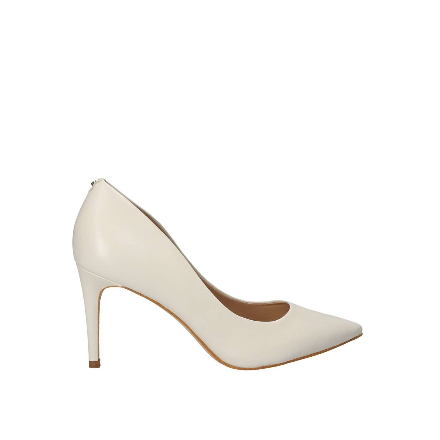 Guess SCARPE DONNA DECOLLETE TC 85 MOD. BENNIE PELLE COLORE CREAM (BIANCO) DS18GU09  Cream