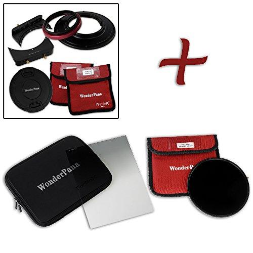 WonderPana FreeArc Essential ND 0.6heキット – コアフィルタホルダー、レンズキャップ、wp66ブラケット、0.6ハードエッジGrad ND & 145 mm nd16フィルタfor Olympus 7 – 14 mm f/2.8 M。ZUIKOデジタルEd Proレンズ(micro-4 /3 )   B01KWAIFZ4