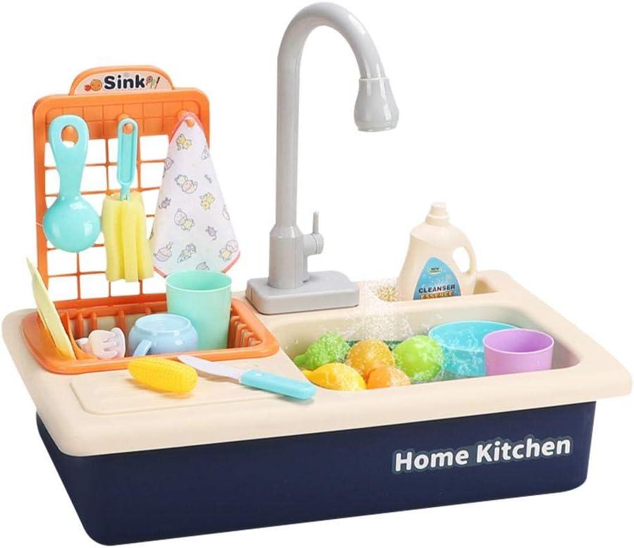 mementoy Spiel Waschbecken ohne Herd Blau - mementoy Kuechenspielzeug