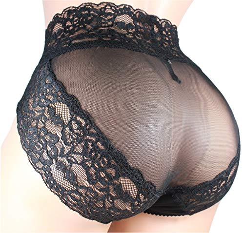 Sissy Pouch Panties Mens lace Thong G-String Bikini Briefs Hipster hot Underwear Sexy for Men