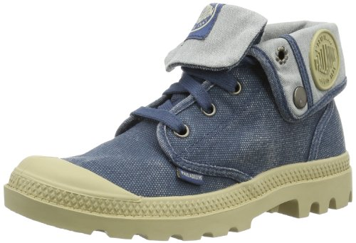 Baggy Boots Low Palladium Womens Blue PYwxYXT