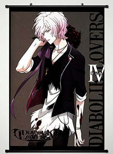 Wall Scroll Poster Fabric Painting For Anime Diabolik Lovers More Blood Sakamaki Subaru 039 L