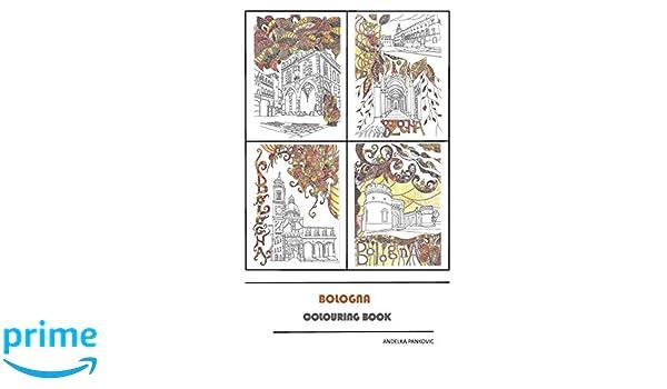 Amazoncom Bologna Libro Da Colorare Italian Edition