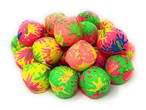 4E's Novelty  Water Balls Bulk Mini Pack of 24 Pool and Beach Fun Accessory for Kids Boys and Girls, Great Summer Birthday Party Favors]()