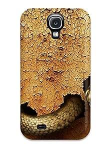 High Grade AmandaMichaelFazio Flexible Tpu Case For Galaxy S4 - Dangerous Snake