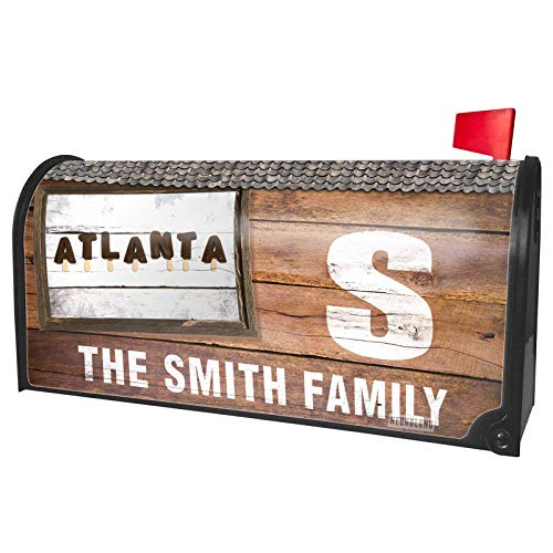 NEONBLOND Custom Mailbox Cover Atlanta Ice Cream Popsicle