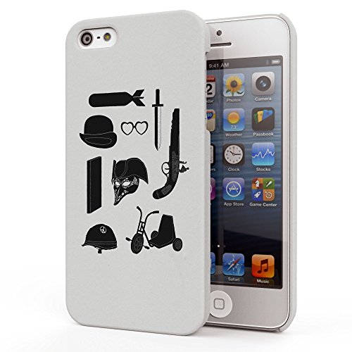 Koveru Back Cover Case for Apple iPhone 5S - A Kubrick Odyssey