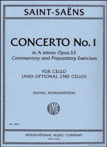 Download Saint-Saens: Concerto No. 1 in A Minor, Op. 33 - Cello PDF