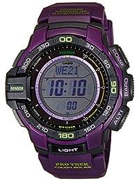 Casio Men's Protrek PRG270-6A Purple Plastic Quartz Watch