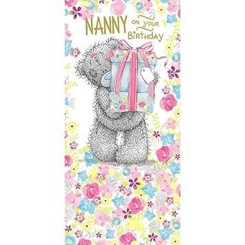 Nan Birthday Me to You Bear Card