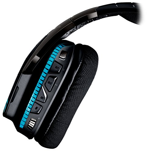 Logitech G933 Artemis Spectrum - Wireless RGB 7.1 Dolby and DTS:X HeadphoneX Surround Sound Gaming Headset - PC, PS4, Xbox One, Switch, and Mobile Compatible - Advanced Audio Drivers by Logitech (Image #4)