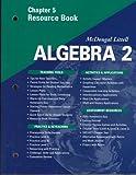 McDougal Littell Algebra 2: Resource Book: Chapter 5