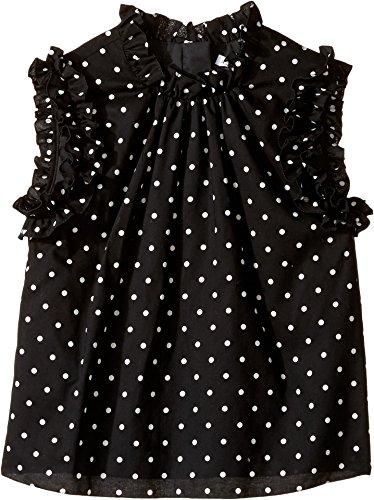 Dolce & Gabbana Kids Baby Girl's Polka Dot Top (Toddler/Little Kids) Print -