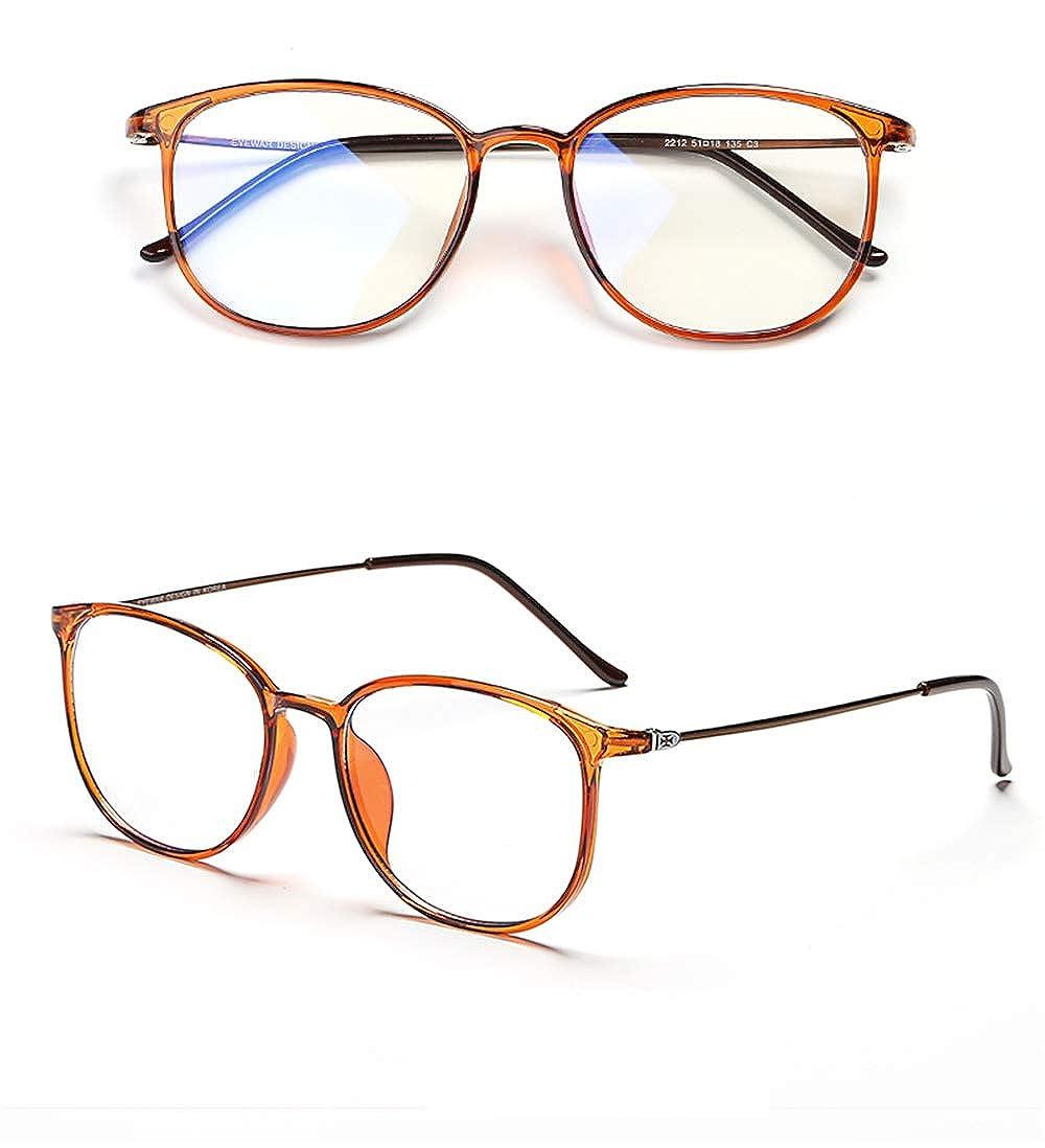 Gestell Ohne Gradbrille Anti-Blaulicht Strahlung Flacher Spiegel