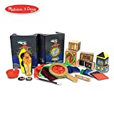 "Melissa & Doug Deluxe Magic Set, Kids Magic Set, 10 Classic Tricks, Step-By-Step Instructions, 3.8"" H x 14.1"" W x 9.6"" L"