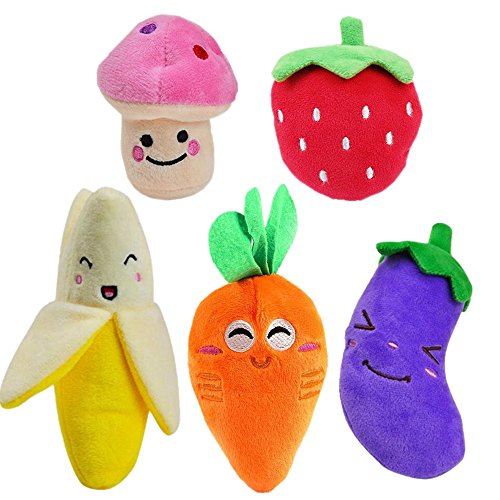 HTKJ Squeaky Small Fruits Vegetables