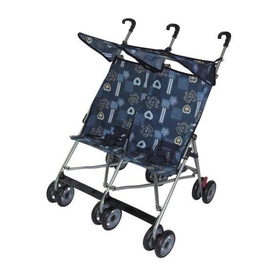 Amoroso Enterprise Twin Double Stroller (Blue)