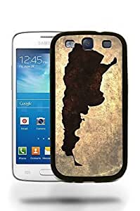 Argentina National Vintage Country Landscape Atlas Map Phone Case Cover Designs for Samsung Galaxy S3