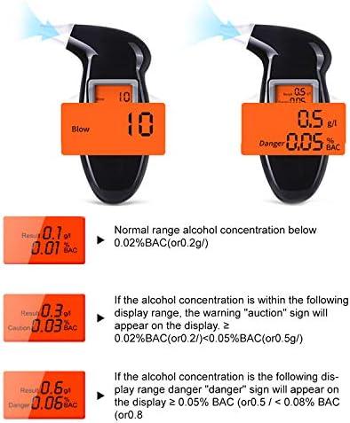 Professional Digital Alkohol Tester Alkoholtester Analyzer Detektor Test WU