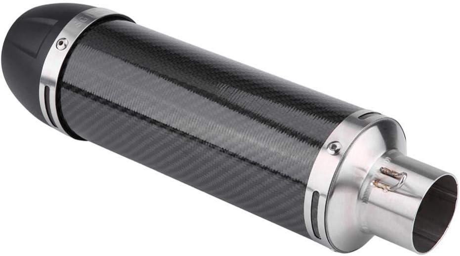 Yctze 51mm Motorrad Auspuffrohr Universal Modified Carbon Auspuff Adapter Zubeh/örset