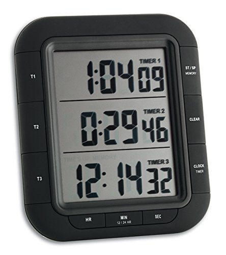 26 opinioni per TFA-Dostmann 38.2023- Timer digitale a 3 display, dimensione grande